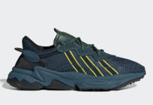 Pusha T adidas Ozweego King Push Blue Green FV2480 Release Date Info