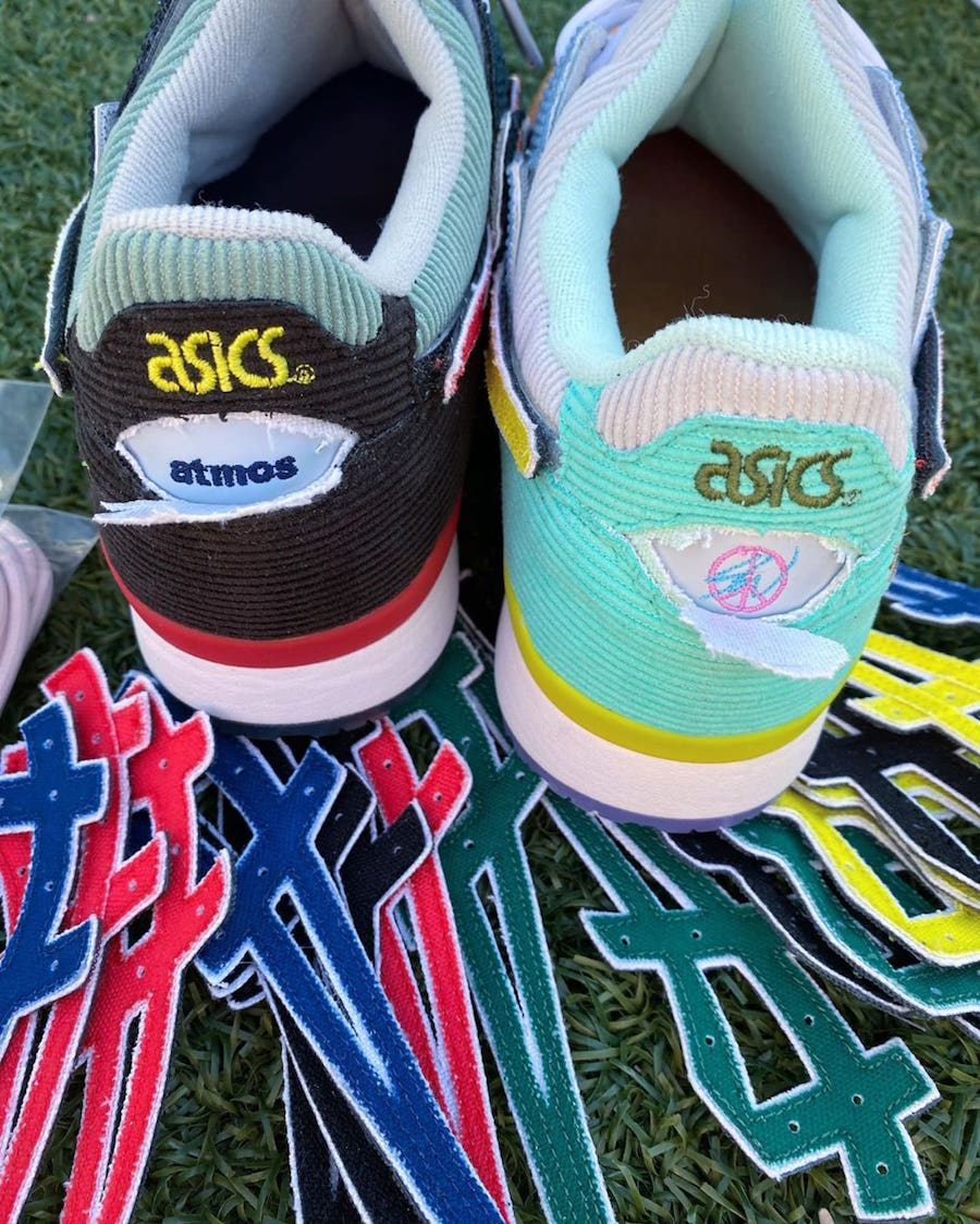 Sean Wotherspoon atmos Asics Gel Lyte III Release Date