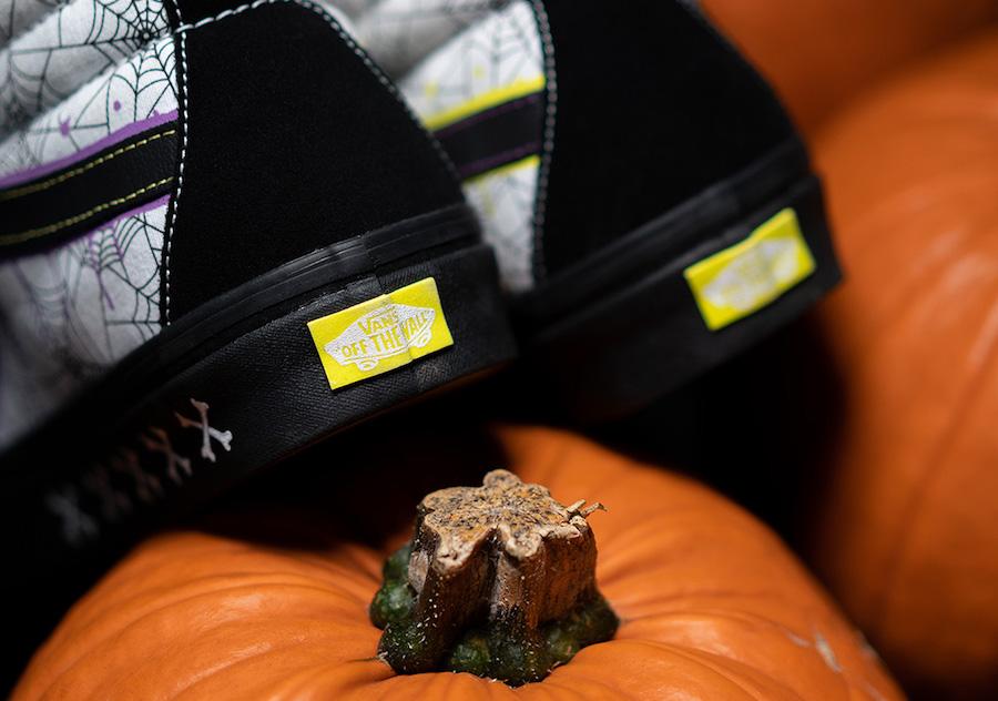 size? Vans SK8-Hi Halloween Release Date Info
