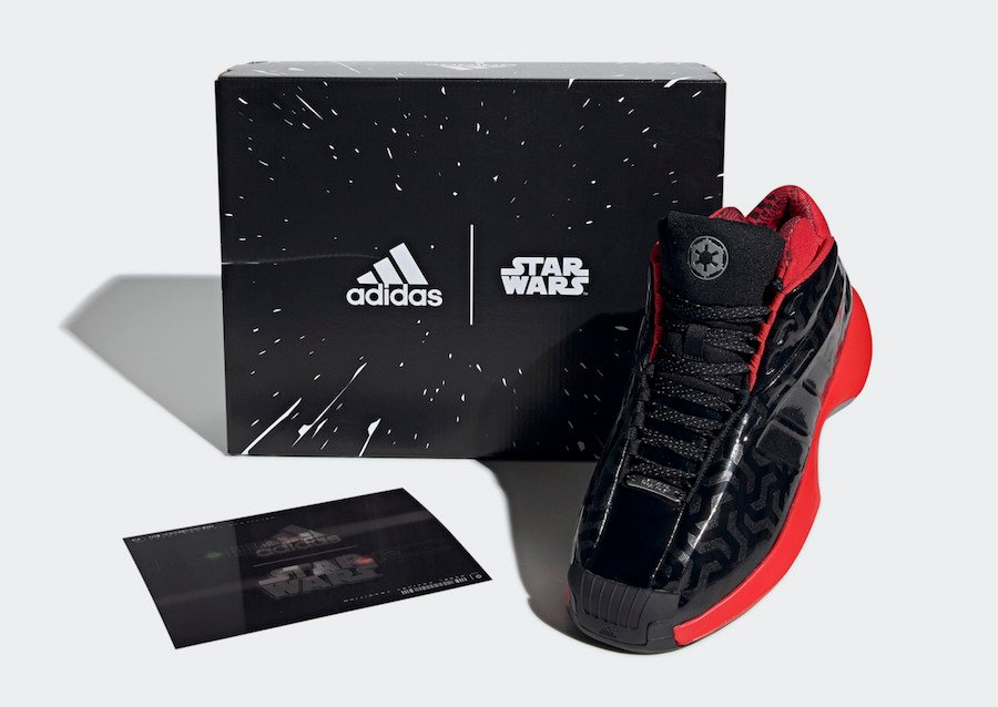 Star Wars Adidas Crazy 1 Darth Vader Eh2460 Release Date