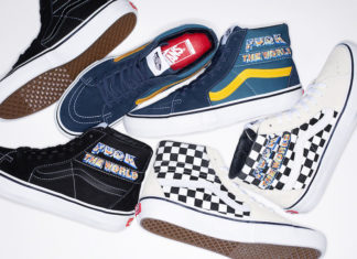 Supreme Vans SK8-Hi Fuck The World Release Date Info