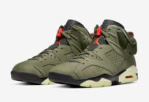 Travis Scott Air Jordan 6 CN1084-200 Release