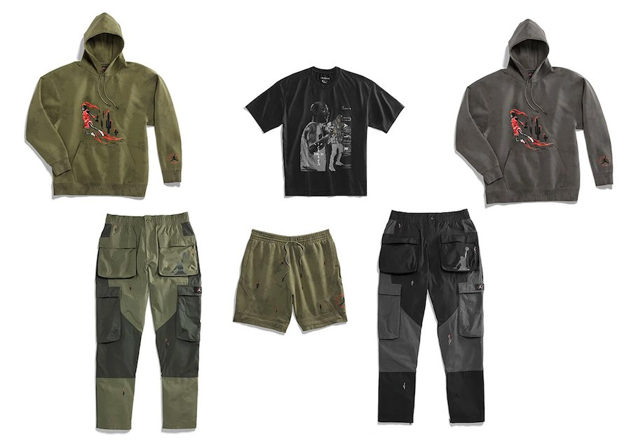 Travis Scott Air Jordan Clothing Apparel