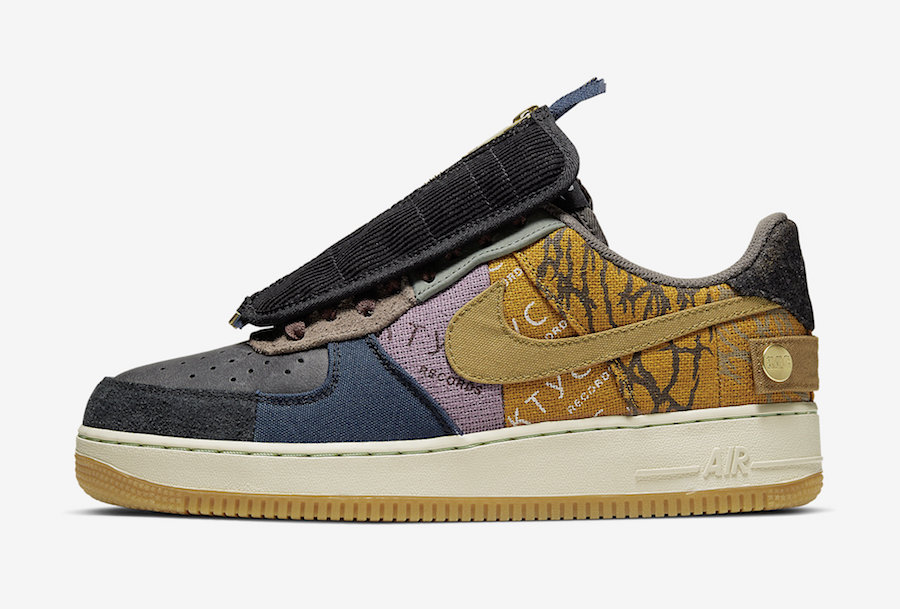 Travis Scott Nike Air Force 1 Low CN2405-900 2019