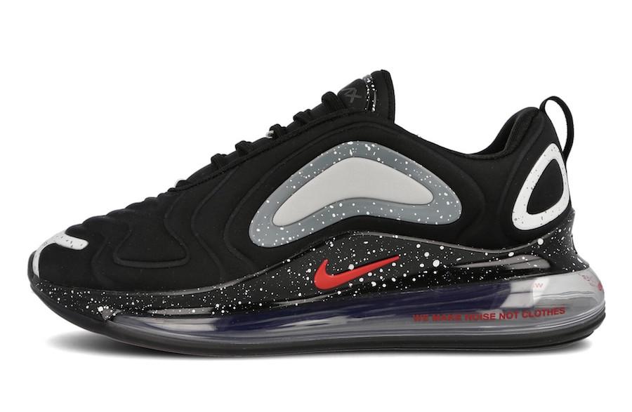 Undercover Nike Air Max 720 Black CN2408-001 Release Date Info