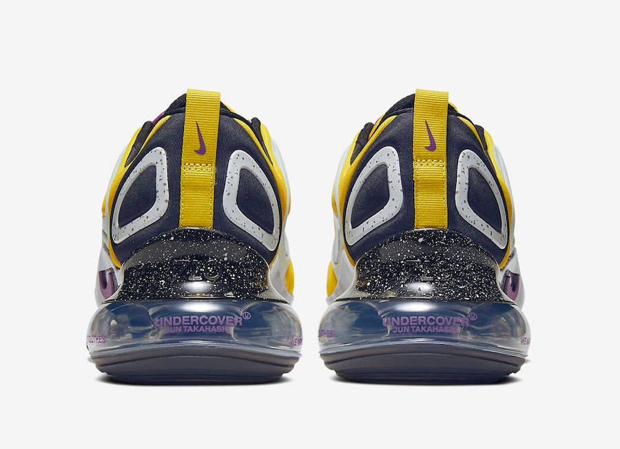 Undercover Nike Air Max 720 Yellow CN2408-700 Release Date