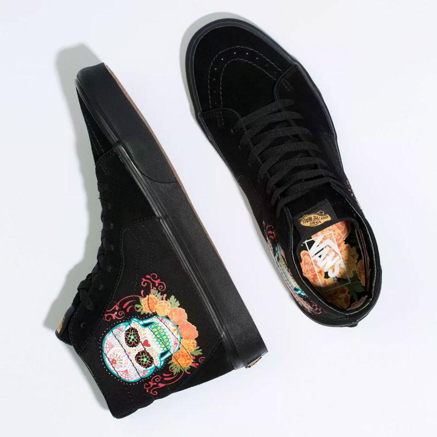 Vans SK8-Hi Dia de los Muertos Release Date Info