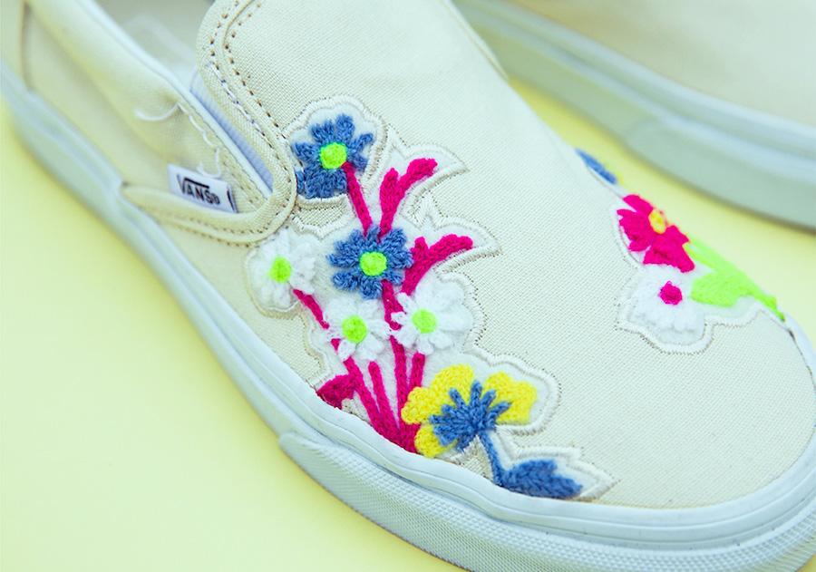 Vans Slip-On Floral Chenille Release Date Info