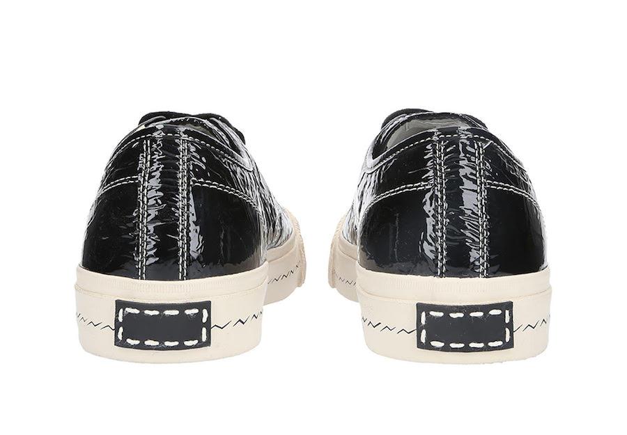 Visvim Skagway Lo Folie Black Patent Leather Release Date Info