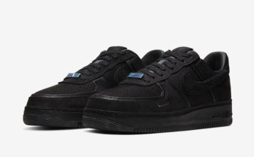 A Ma Maniere Nike Air Force 1 Black Hand Wash Cold CQ1087-002 Release