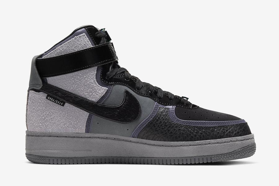 A Ma Maniere Nike Air Force 1 High CT6665-001 Release Date