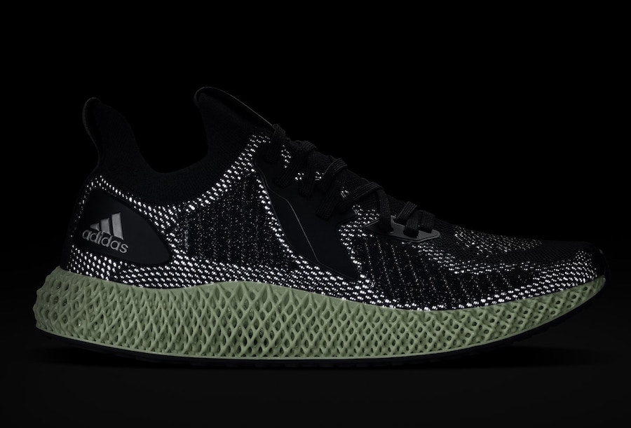 adidas Alphaedge 4D Reflective Black FV4686 Release Date Info