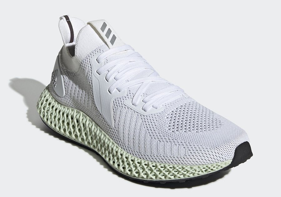 adidas Alphaedge 4D Reflective White FV4687 Release Date Info