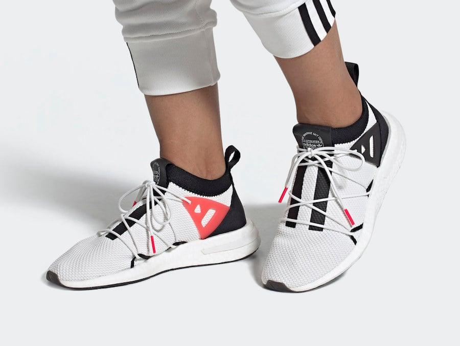 adidas Arkyn White Black EE5316 Release Date Info