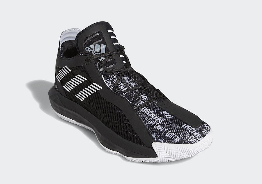 adidas Dame 6 Hecklers Black FU6807 Release Date Info