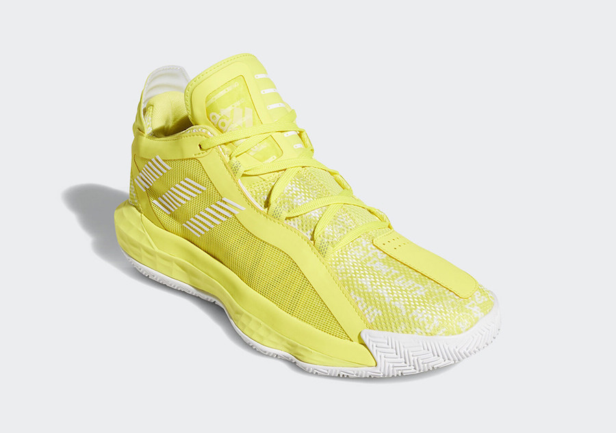 adidas Dame 6 Hecklers Shock Yellow FU6810 Release Date Info