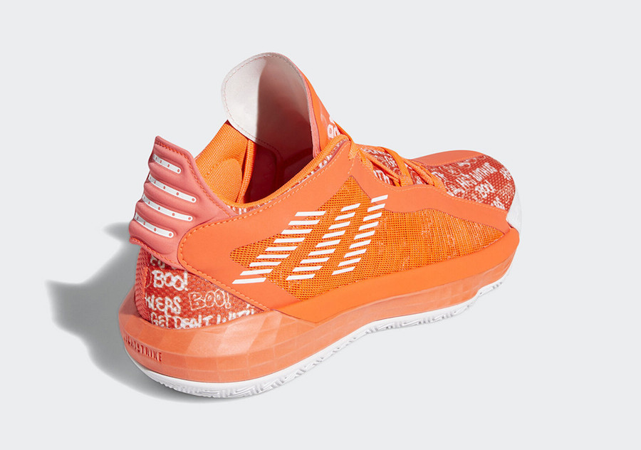 adidas Dame 6 Hecklers Solar Red FU6808 Release Date Info