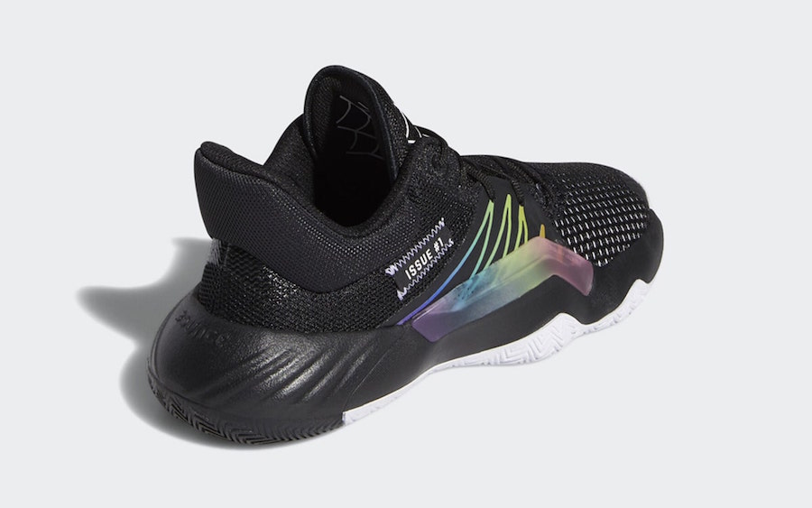 adidas DON Issue 1 Rainbow Spider-Man Release Date Info