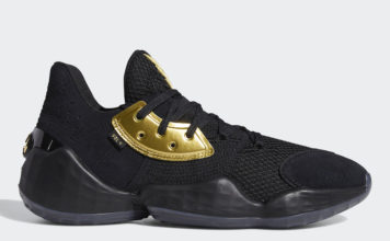 adidas Harden Vol 4 Black Gold EF8648 Release Date Info