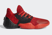 adidas Harden Vol. 4 Power Red EF0999 Release Date Info