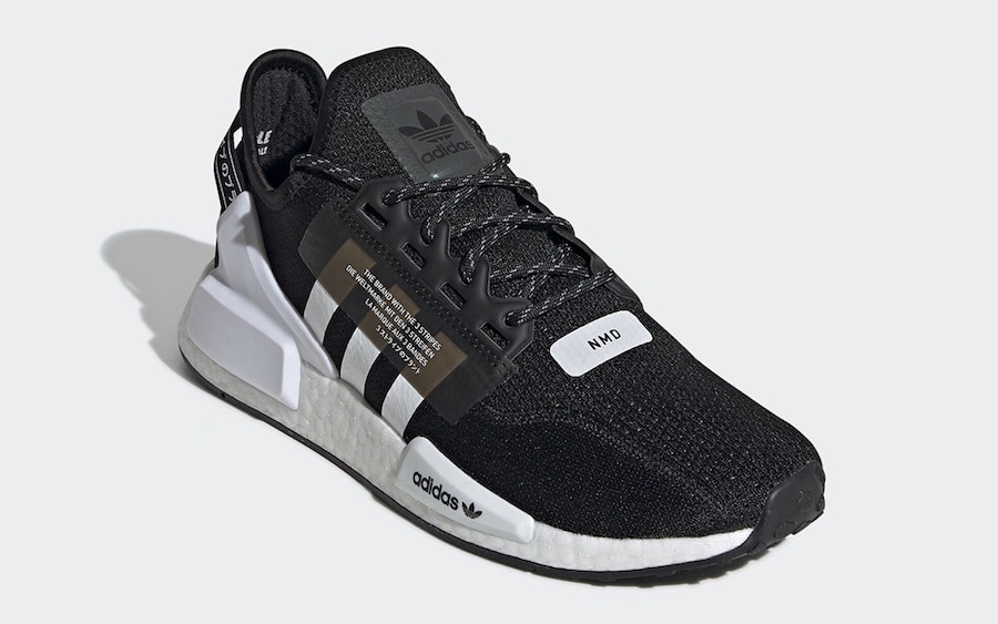 adidas NMD V2 Black White FV9021 Release Date Info
