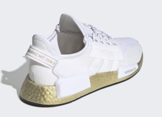 adidas NMD V2 White Gold Metallic FW5450 Release Date Info