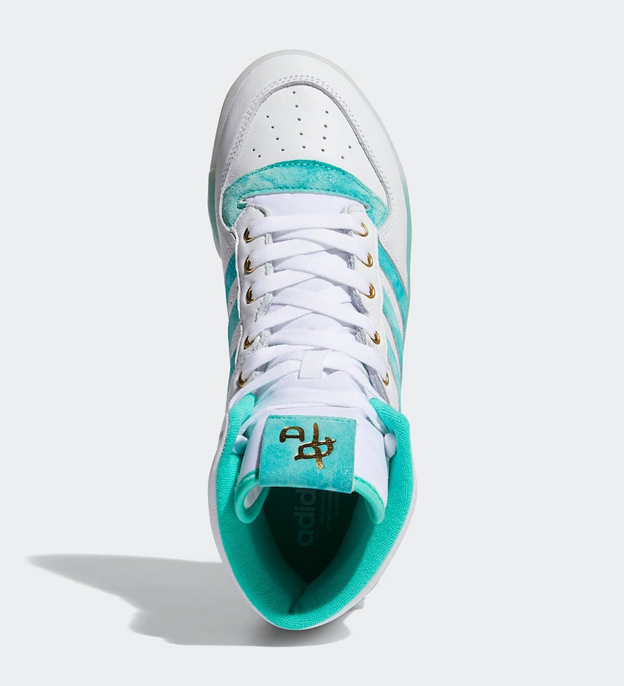 adidas Rivalry High Hi-Res Green Gold Foil FV4526 Release Date Info