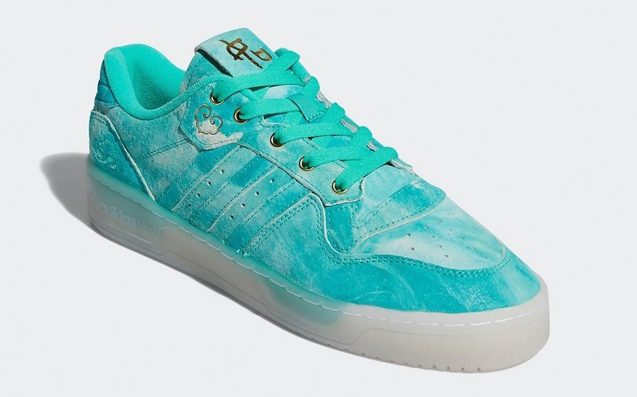 adidas Rivalry Low Hi-Res Green Gold Foil FV4523 Release Date Info