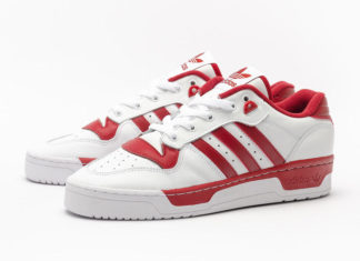 adidas Rivalry Low White Red EE4967 Release Date Info