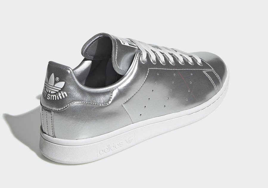 adidas Stan Smith Liquid Silver Metal FV4300 Release Date Info