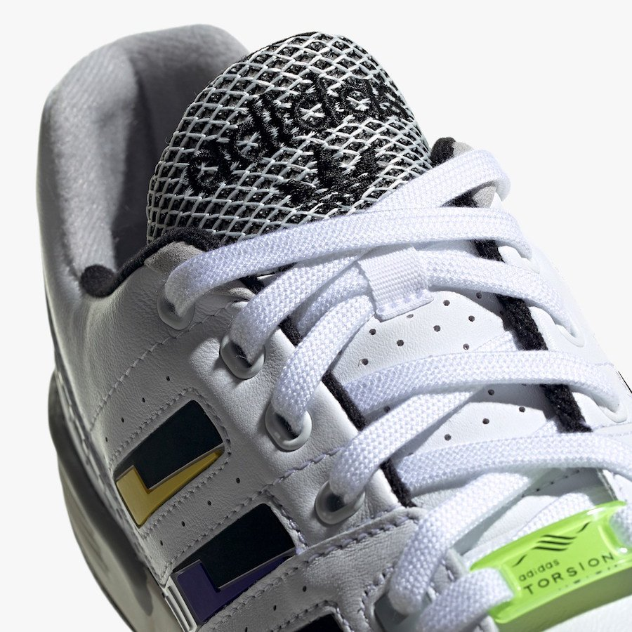 adidas Torsion Comp White Black Solar Yellow EE7376 Release Date Info