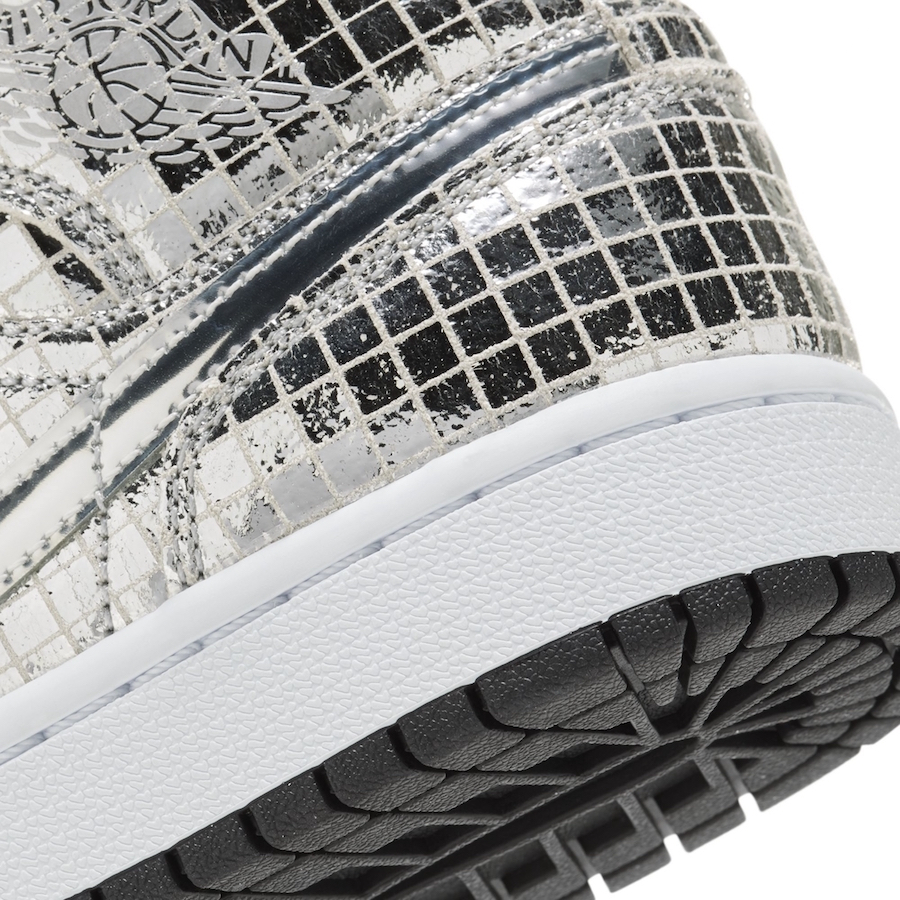 Air Jordan 1 Mid Disco Ball Release Date