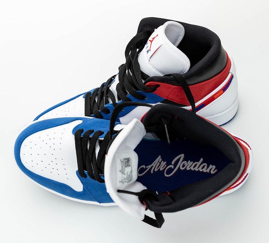 Air Jordan 1 Mid Multicolor Swoosh 852542-146 Release Date Info