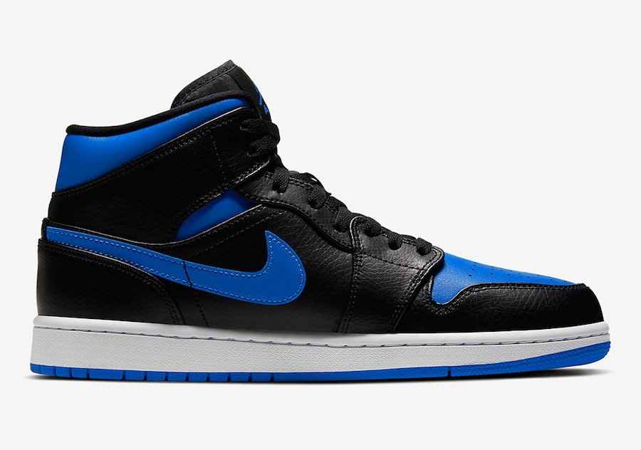 Air Jordan 1 Mid Royal 554724-068 Release Date