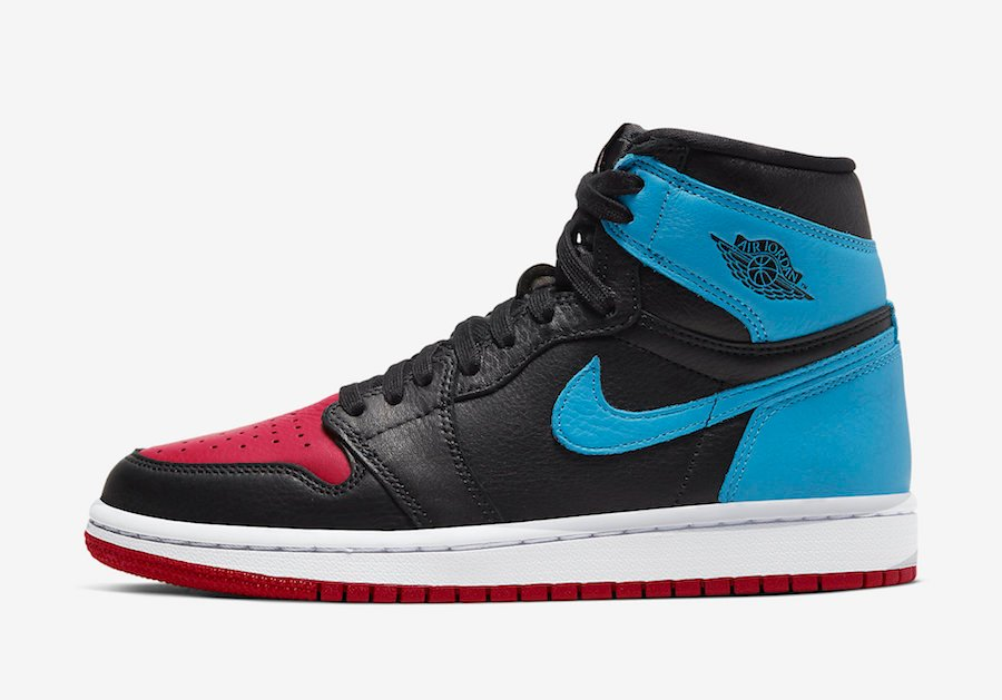 Air Jordan 1 UNC to Chicago CD0461-046 Release