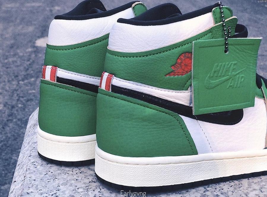 Air Jordan 1 WMNS Lucky Green DB4612-300 Release Date Info