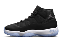 Air Jordan 11 Black Clear White Metallic Silver CT8012-011 Release Date Info