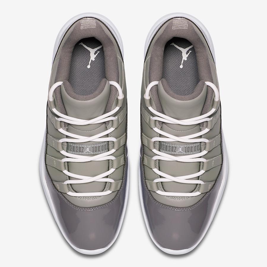Air Jordan 11 Low Golf Cool Grey AQ0963-002 Release Date Info