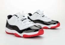 Air Jordan 11 Low White University Red Black True Red AV2187-160 2020 Release Date