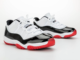 Air Jordan 11 Low White University Red Black True Red AV2187-160 2020 Release Date