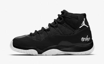Air Jordan 11 WMNS Black White CZ3621-001 Release Date Info