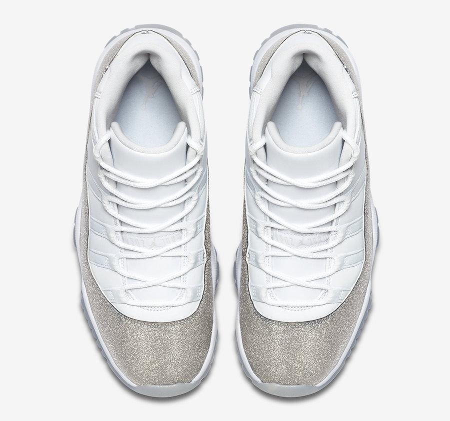 Air Jordan 11 WMNS White Metallic Silver AR0715-100