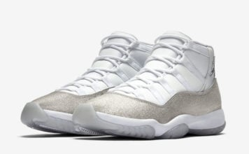 Air Jordan 11 WMNS White Metallic Silver AR0715-100