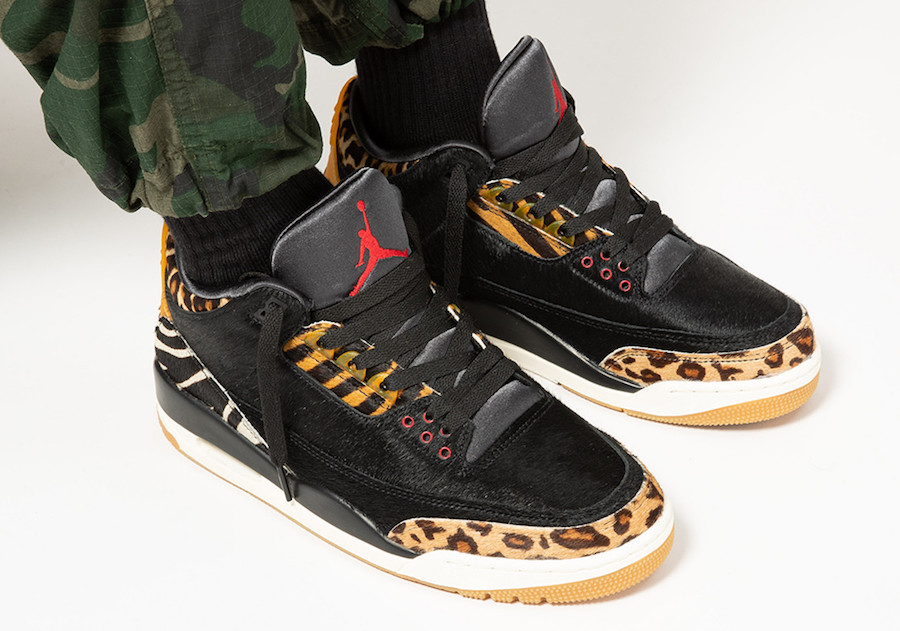 Air Jordan 3 Animal Pack CK4344-002 2019 Release