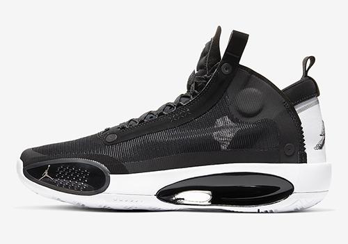 Air Jordan 34 XXXIV Black White Eclipse Release Date