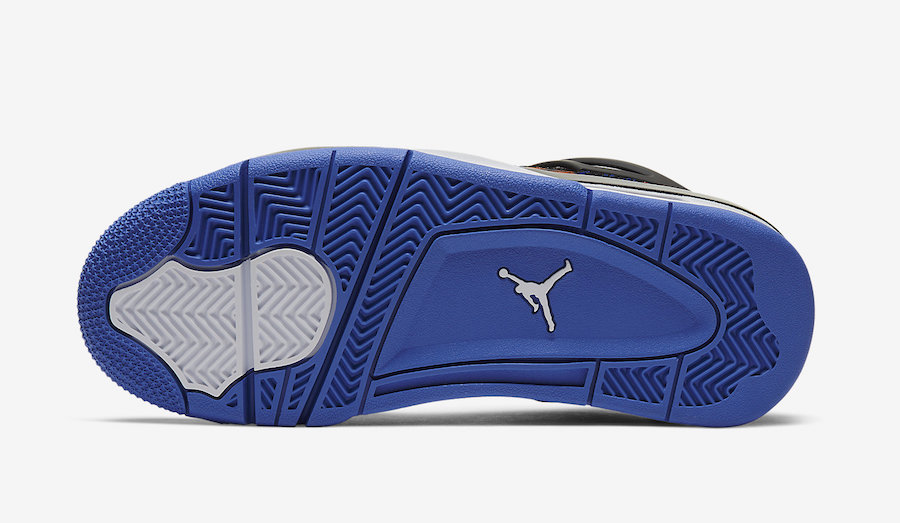 Air Jordan 4 GS Rush Violet Racer Blue BQ9043-005 Release Date