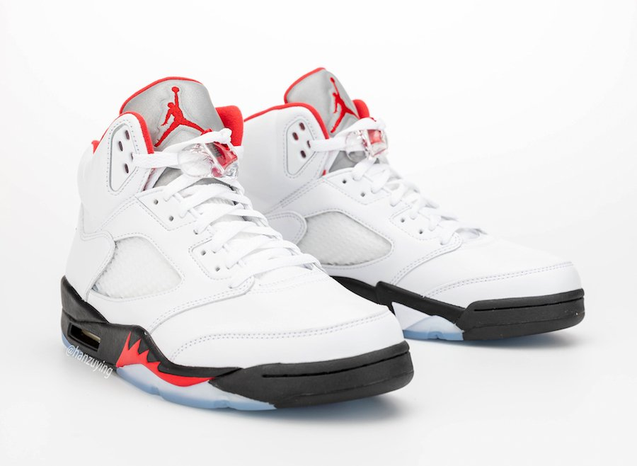 Air Jordan 5 Fire Red 2020 DA1911-102 Release Date