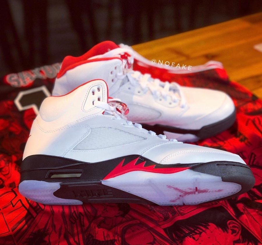 Air Jordan 5 Fire Red DA1911-102 2020 Release Date