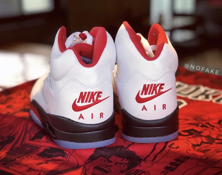 Air Jordan 5 Fire Red DA1911-102 2020 Release Date