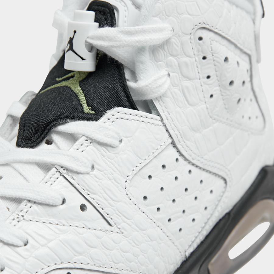 Air Jordan 6 GS Alligator 384665-110 Release Date